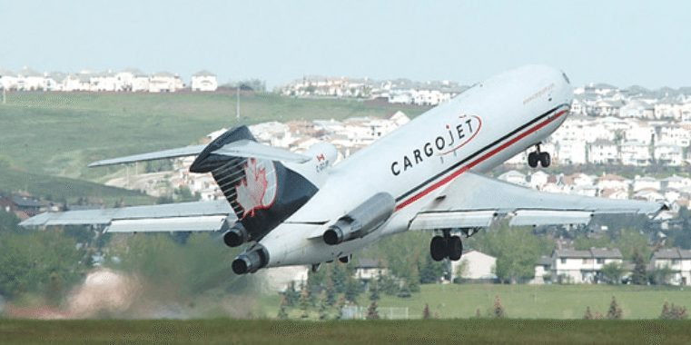 A Cargojet B727-200AF