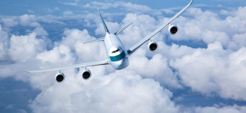 Cathay cargo slows down