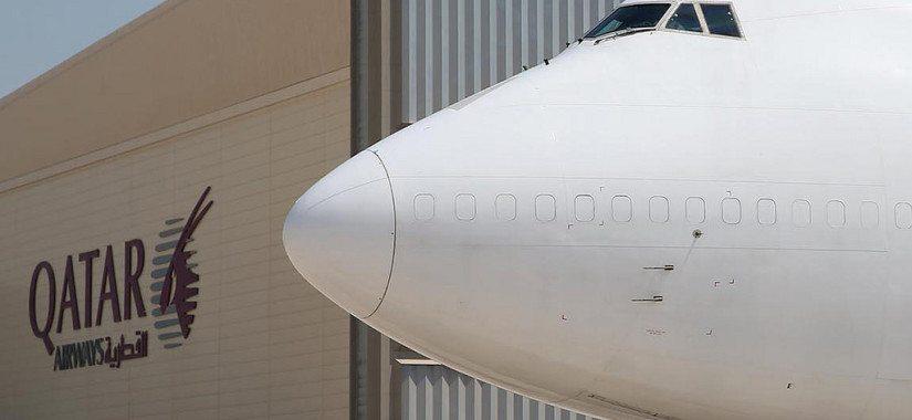 Qatar Airways B747F plane lease