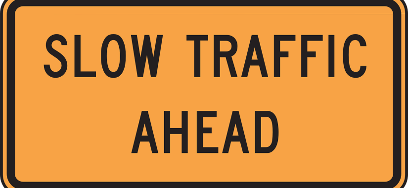 Traffic warning sign