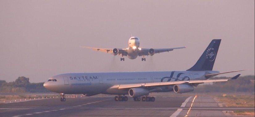 B767 aborts landing