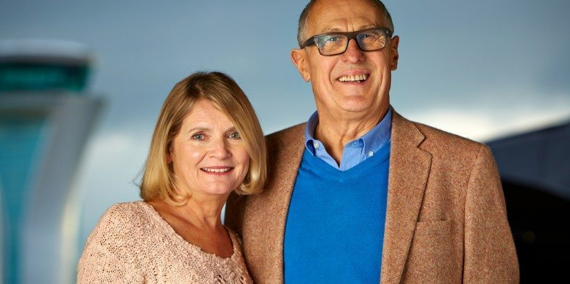 Chris and Tina Leach celebrate 25 years