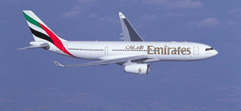 An Emirates SkyCargo A330-200