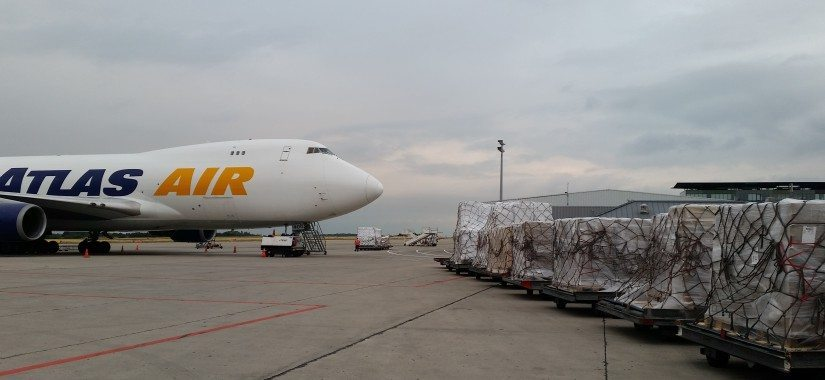 Air Partner charters B747 freighter for Central African Republic food aid mission