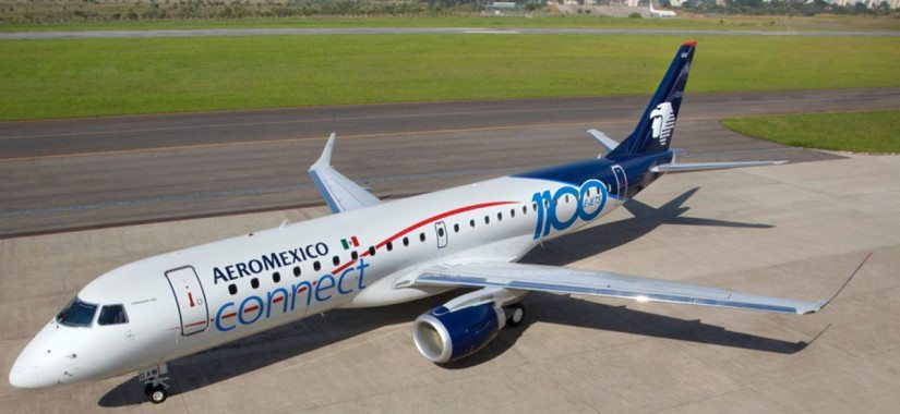 Aeromexico to launch a belly cargo service to Santo Domingo with an Embraer 190