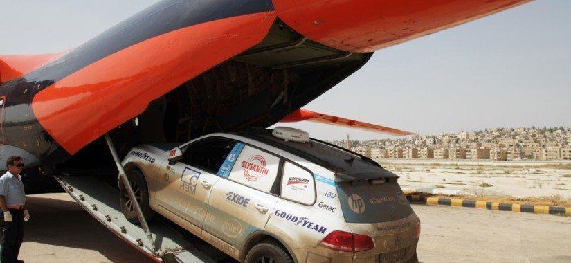 Record-breaking Touareg takes the high road thanks to ACS