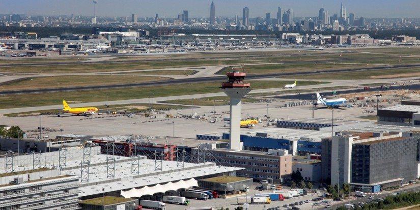 Frankfurt, Germany, a major cargo hub