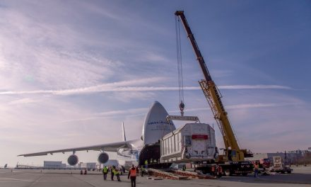 Volga-Dnepr helps search for life on Mars