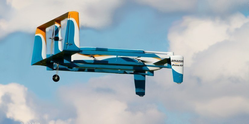 Air safety in a flap over drones