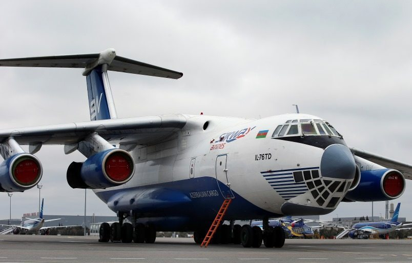 Silk Way Antonov freighter crash kills seven crew