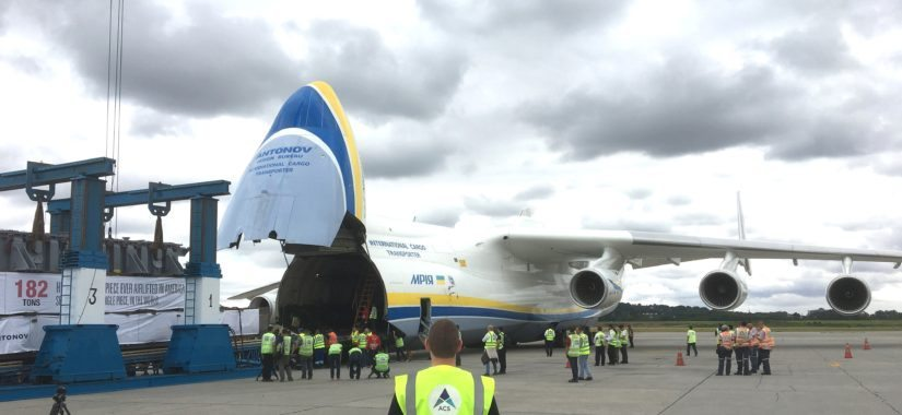 An-225 deliver 182 tonne delivery