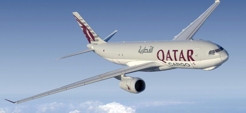 Heathrow says hello to Qatar freighter