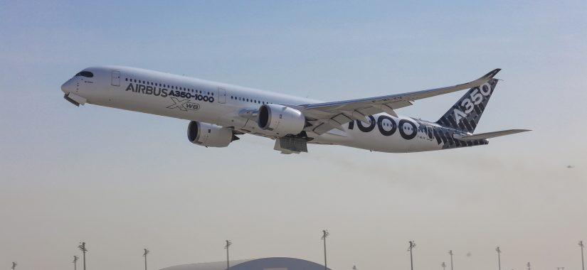Qatar welcomes first A350-1000 test aircraft