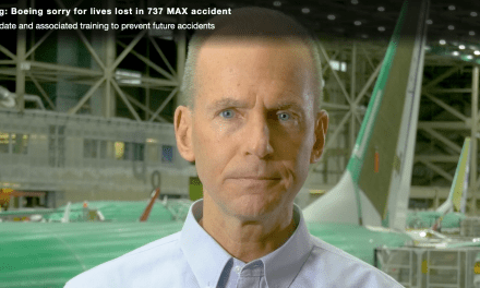 Boeing CEO admits 'error' in B737 MAX anti-stall system