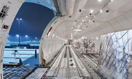 Air cargo slump was already apparent in February