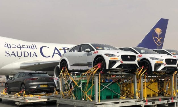 375 tonnes of cars is no problem for Saudia Cargo