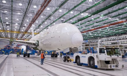 Boeing halts B787 Dreamliner production
