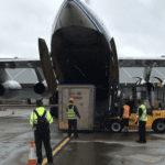 Power turbine is no problem for Volga-Dnepr and K + N