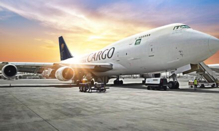 Another B747-400 freighter joins the Saudia fleet