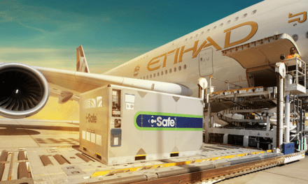 Etihad Cargo can take the temperature of its shipments