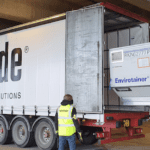 Pop-up cool ULD repair centres for vaccine air cargo hubs