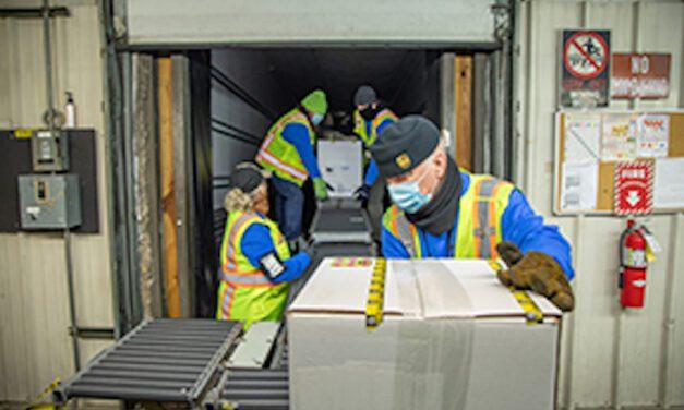 UPS opens new 100,000-sq ft UK COVID facility