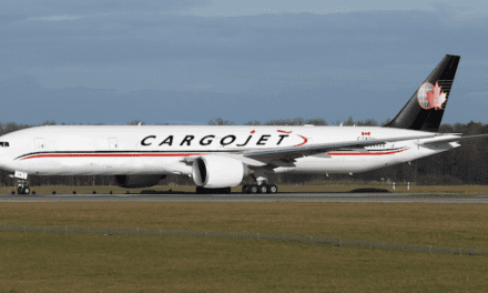 Canada's Cargojet receives its first new B777-ER freighter
