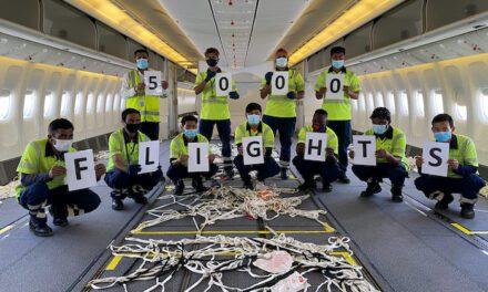 5,000 cargo-only UAE flights milestone for dnata