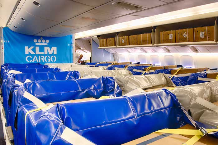 AFKLMP replaces lost passengers with bespoke 'Cargo Seat Bags'