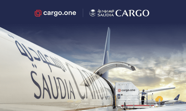 Saudia Cargo joins the Cargo.One digital bookings journey