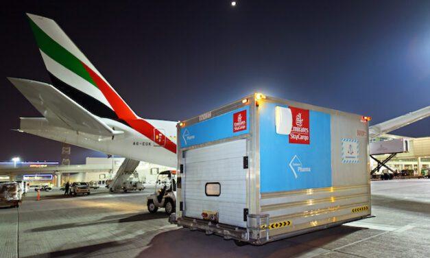 Emirates SkyCargo's vaccines total reaches 150 million doses