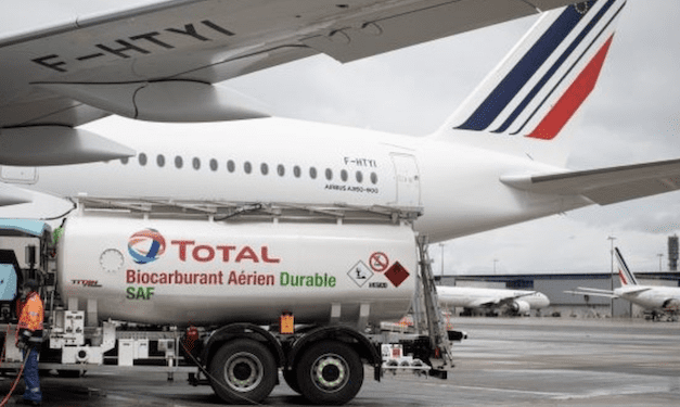 Cooking oil part-fuels AF/KLM flight from Paris to Montreal