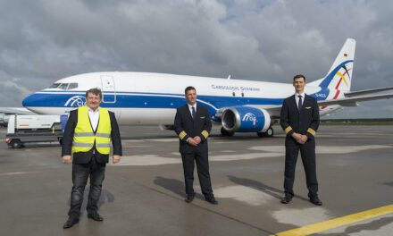 CargoLogic Germany brings in another B737-400 freighter