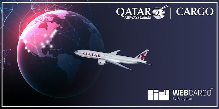 Qatar Cargo gives a digitalisation bonus to US forwarders