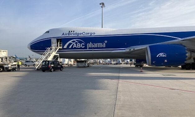 AirBridgeCargo performs an increasing role in life-saving logistics