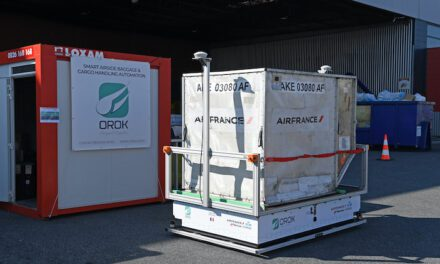 AFKLMP Cargo plugs in to electric autonomous ramp vehicles